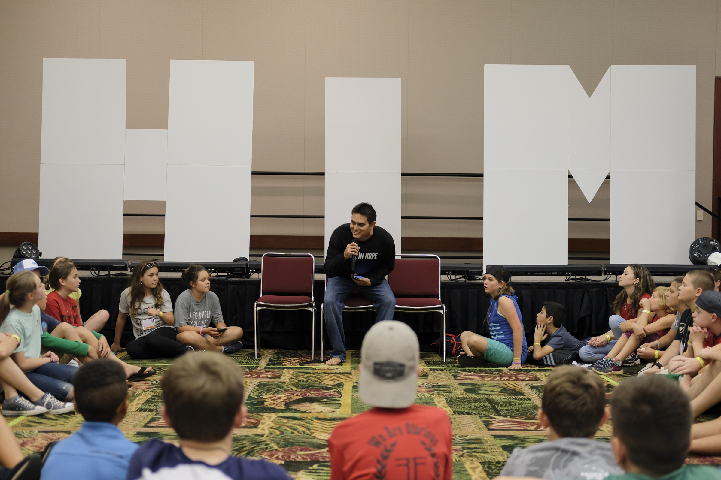 As a youth, what was the best part of the conference for you? -