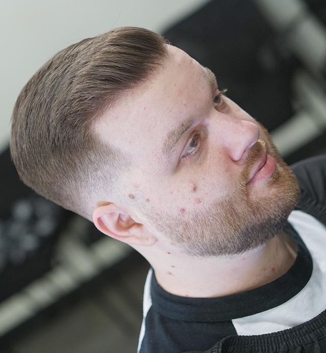 . . Barber: Jordan Peterson @hairxjordan . . Style: Skin Fade with hard part . . . . Appointment only at www.paramountbarberingco.com . . . #nbahaircuts #nbastyles #iowabarber #barber  #barbershop #barberlife  #btcpics #behindthechair #taper #taperit #eastvillage #desmoines #iowa #barbershopconnect #hanzoshears #hanzonation #thebarberpost #desmoinesbarber #desmoinesbarbershop  #desmoineshair #thebarberpost #sharpfade