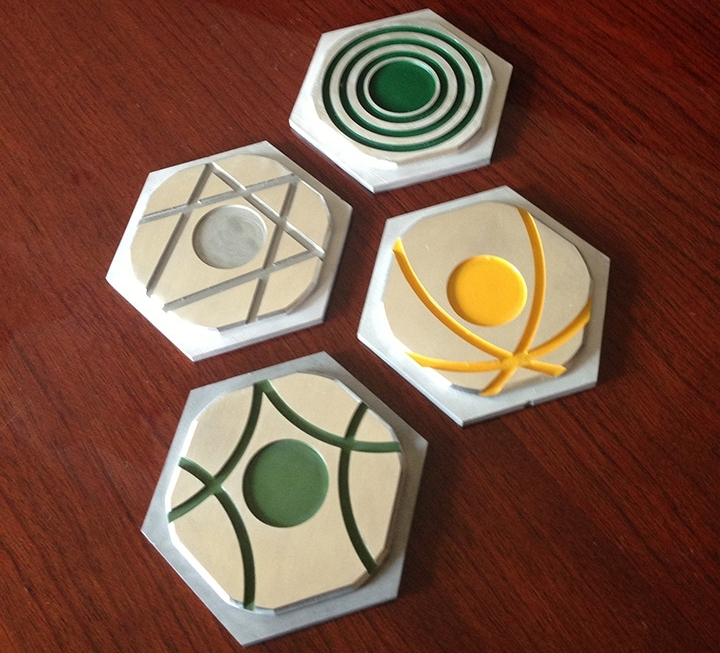 Settlers of Catan - Everyone loves a good game of Settlers. Why not make a lasting memory by playing on this billet aluminum set?