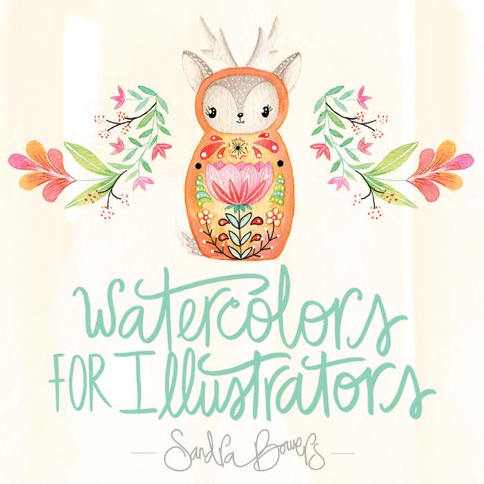 WatercolorforIllustrators-SandraBowers