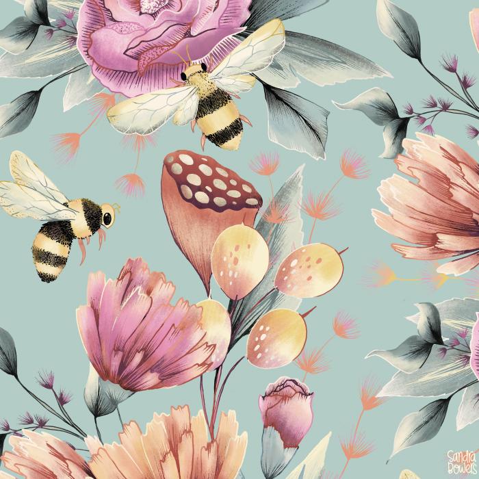 BeeGardenPattern-SandraBowers.png