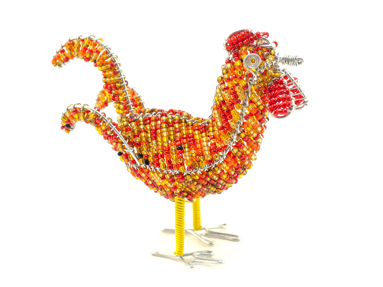 Beaded Rooster
