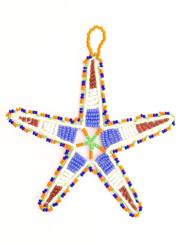 Zulu Beaded Star