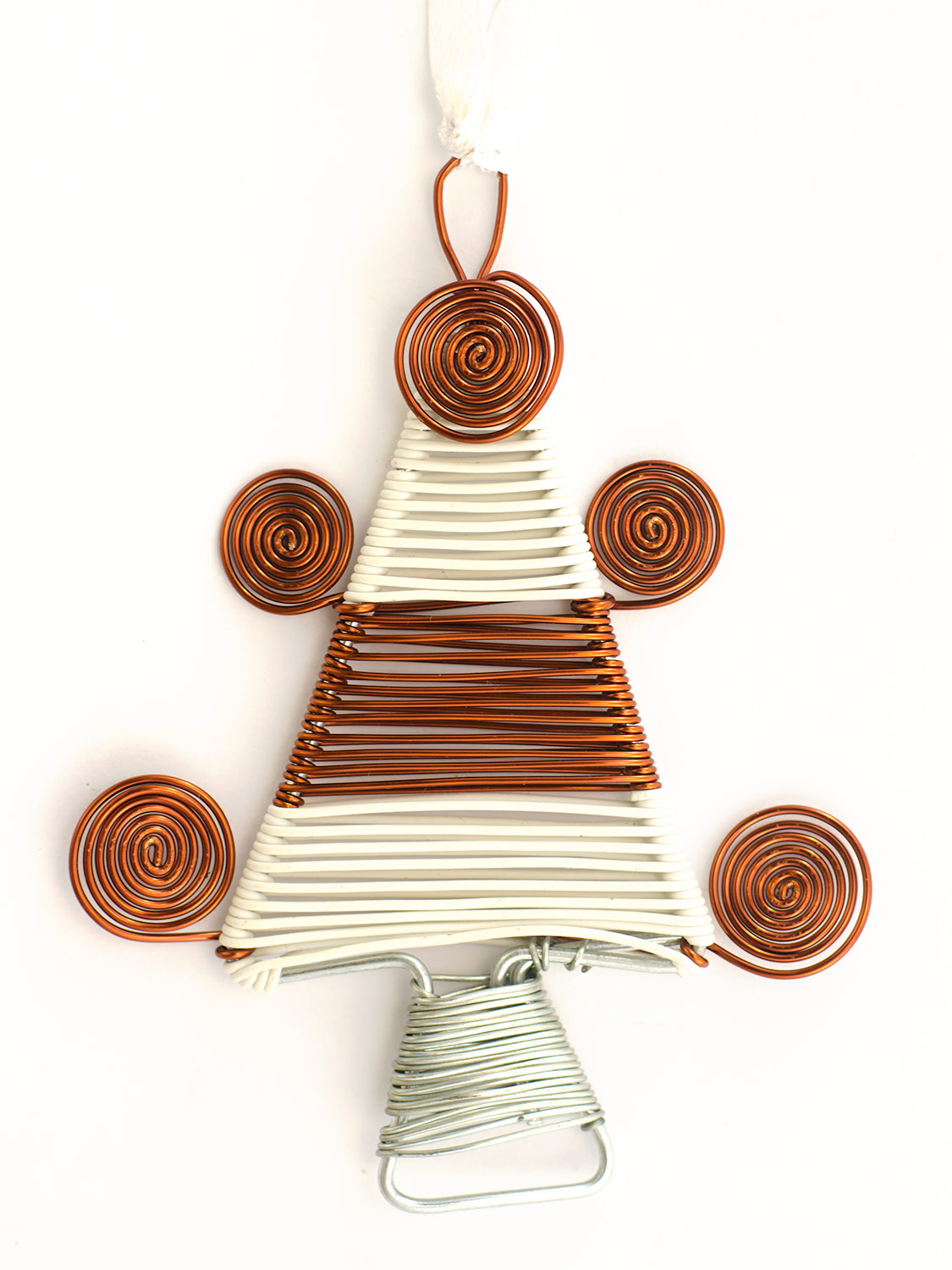 Scooby wire Christmas tree ornament
