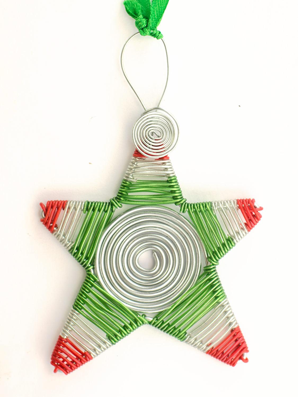 Spiral wire scooby star