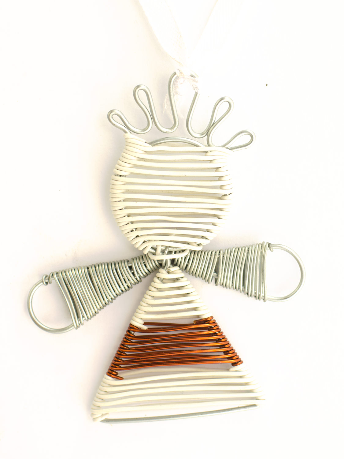 Scooby wire angel decoration