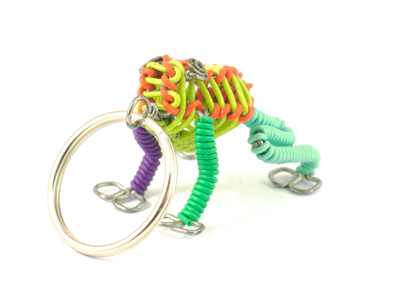3D scooby frog keyring