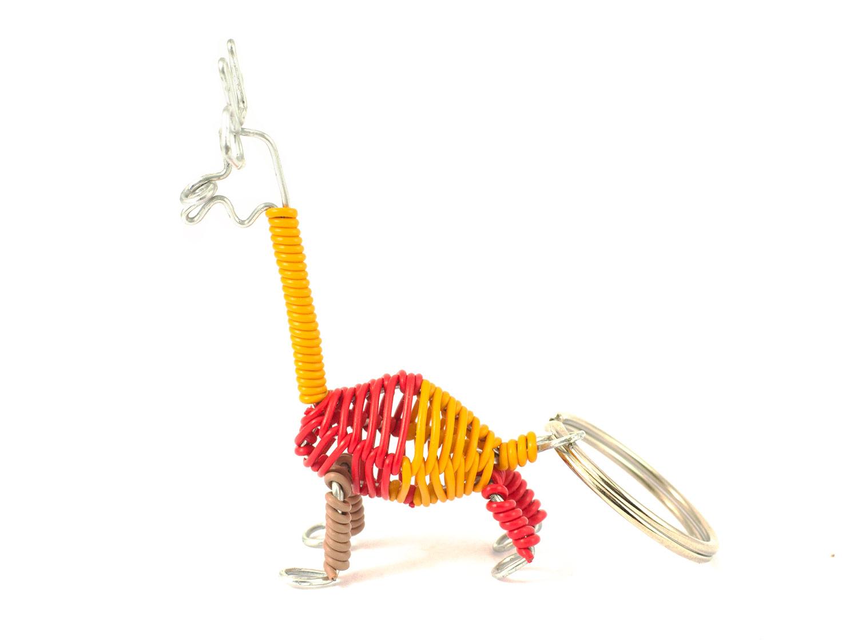 3D scooby giraffe keyring