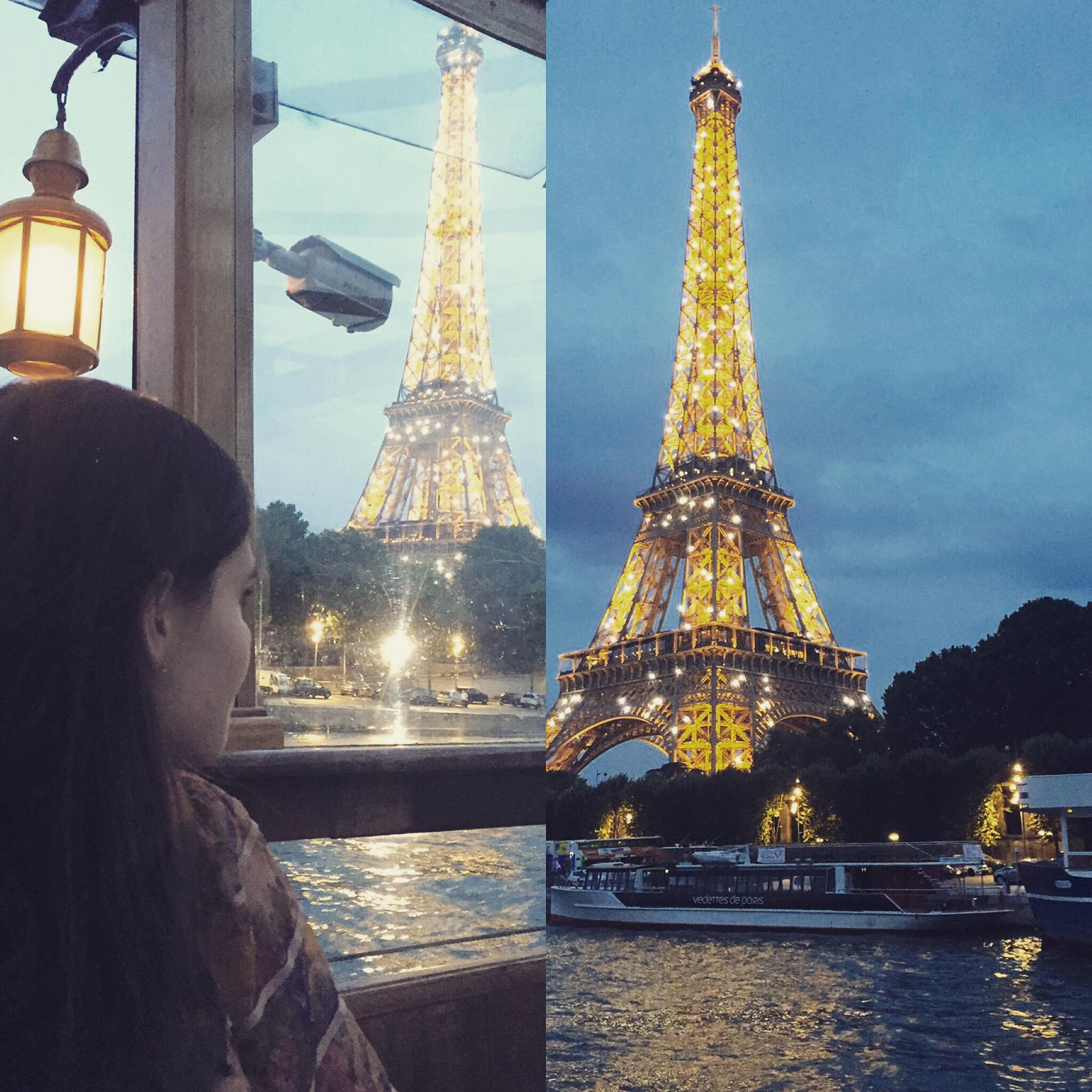 A magical night in Paris.