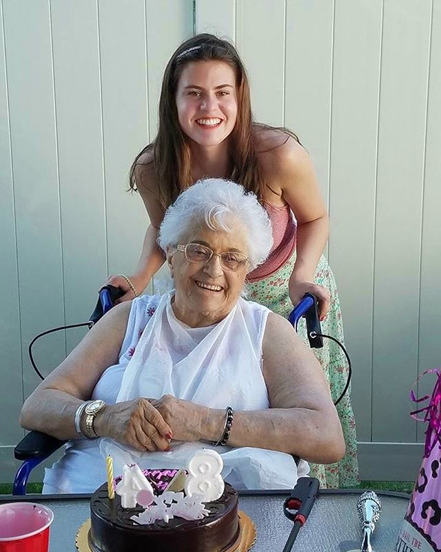 Buon Natale to my precious Grandma Vinny in Heaven. Fly high angel. 👼🏼