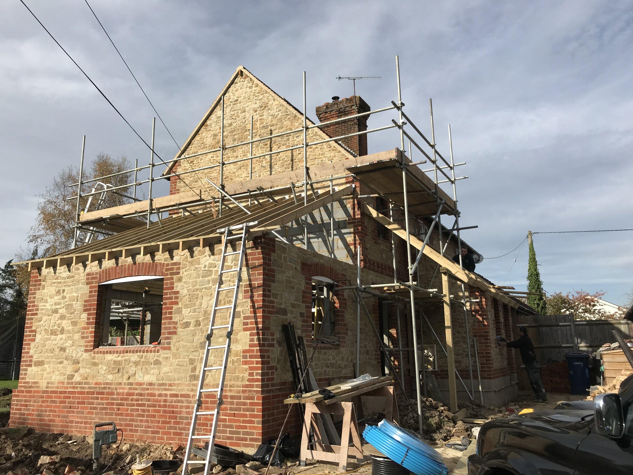 Dockenfield brickwork