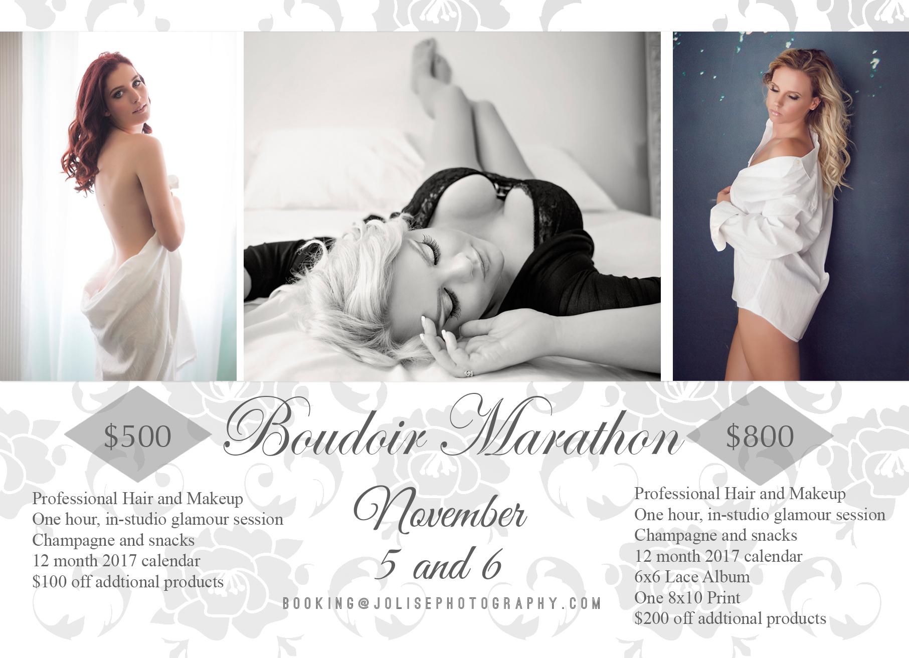 Clearwater boudoir marathon