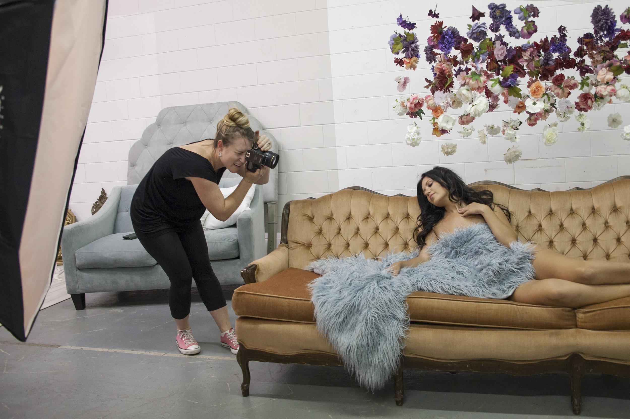 Tampa boudoir photographer