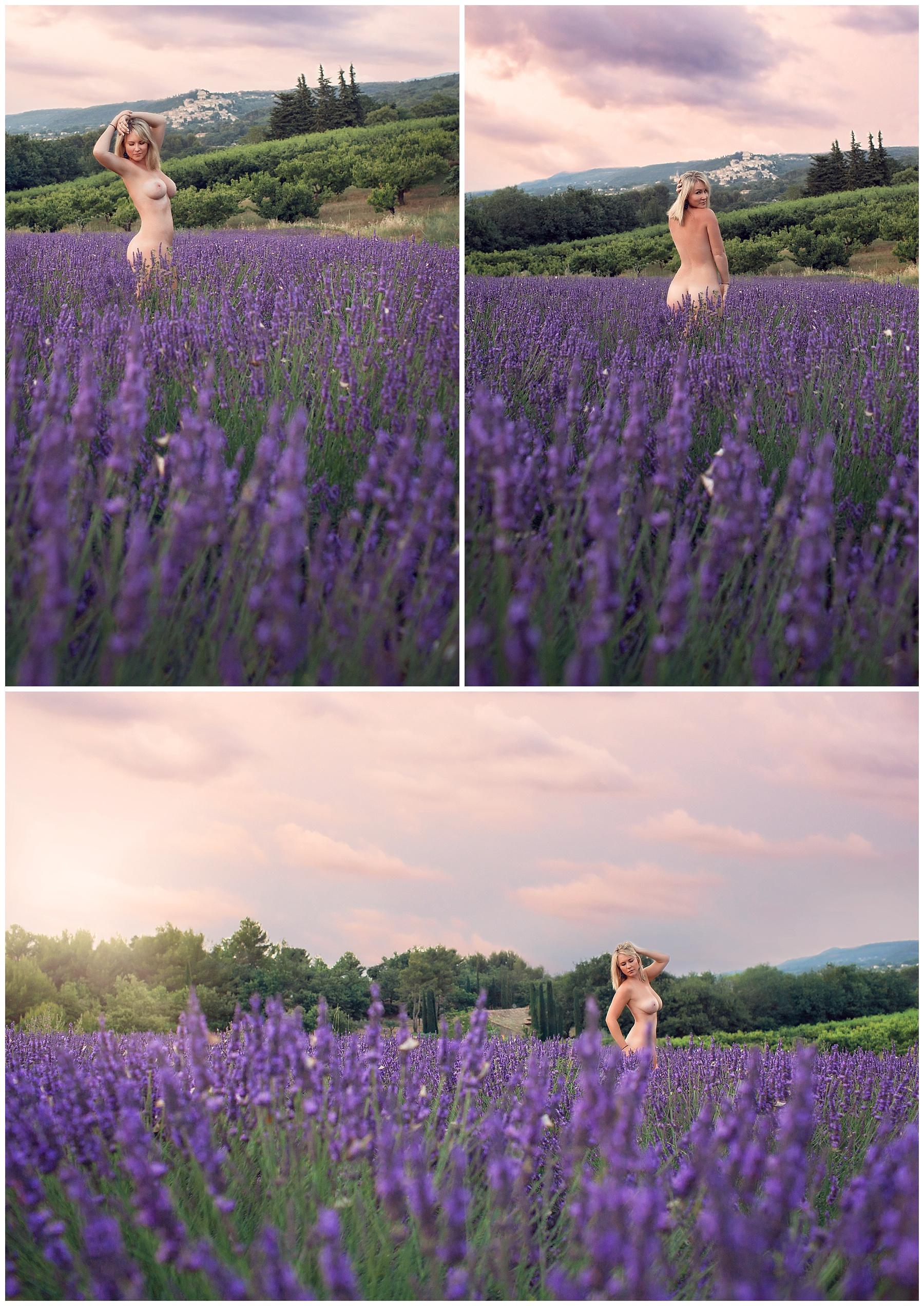 Lavender boudoir