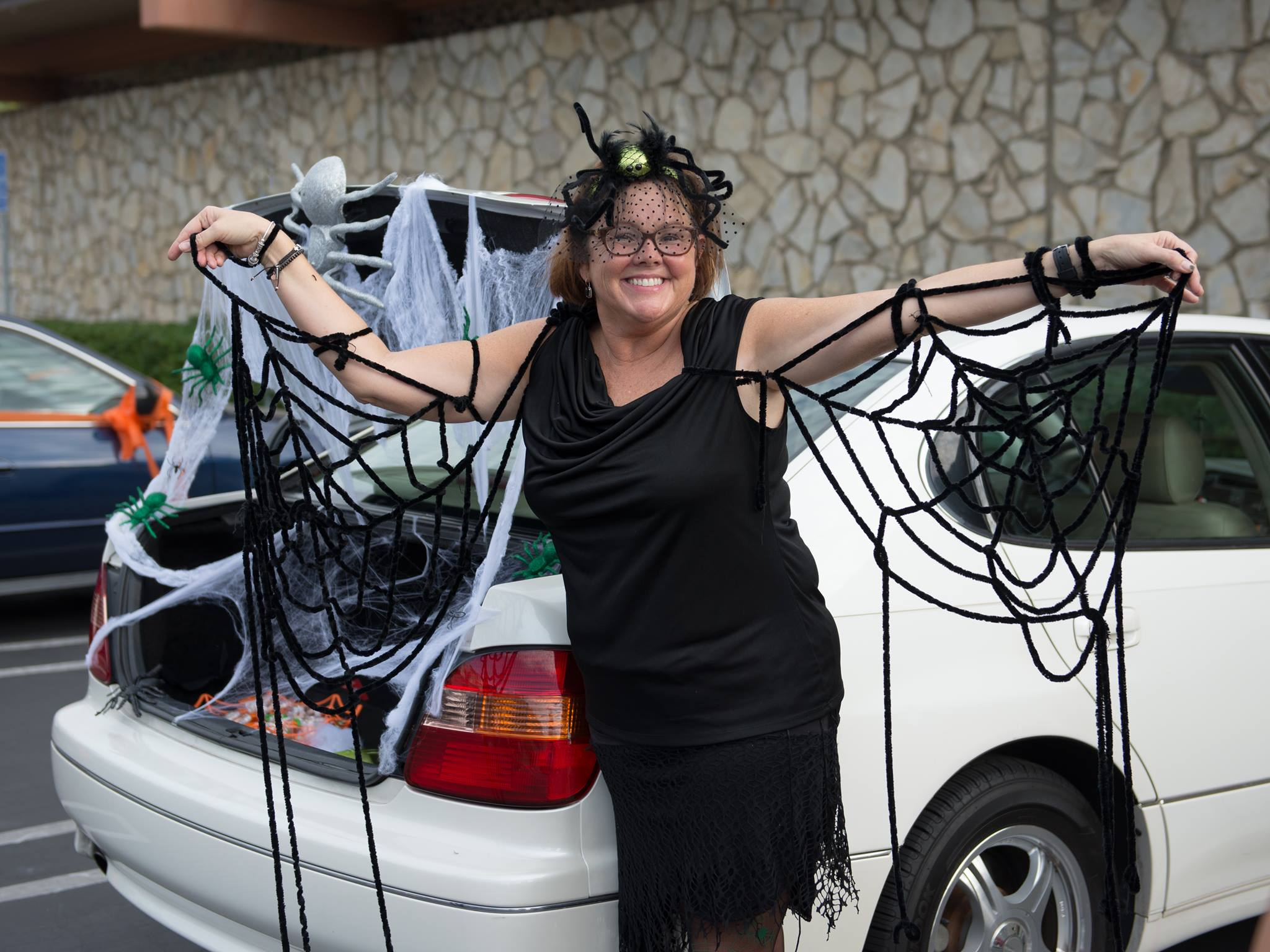 trunk or treat spider Pam.jpg