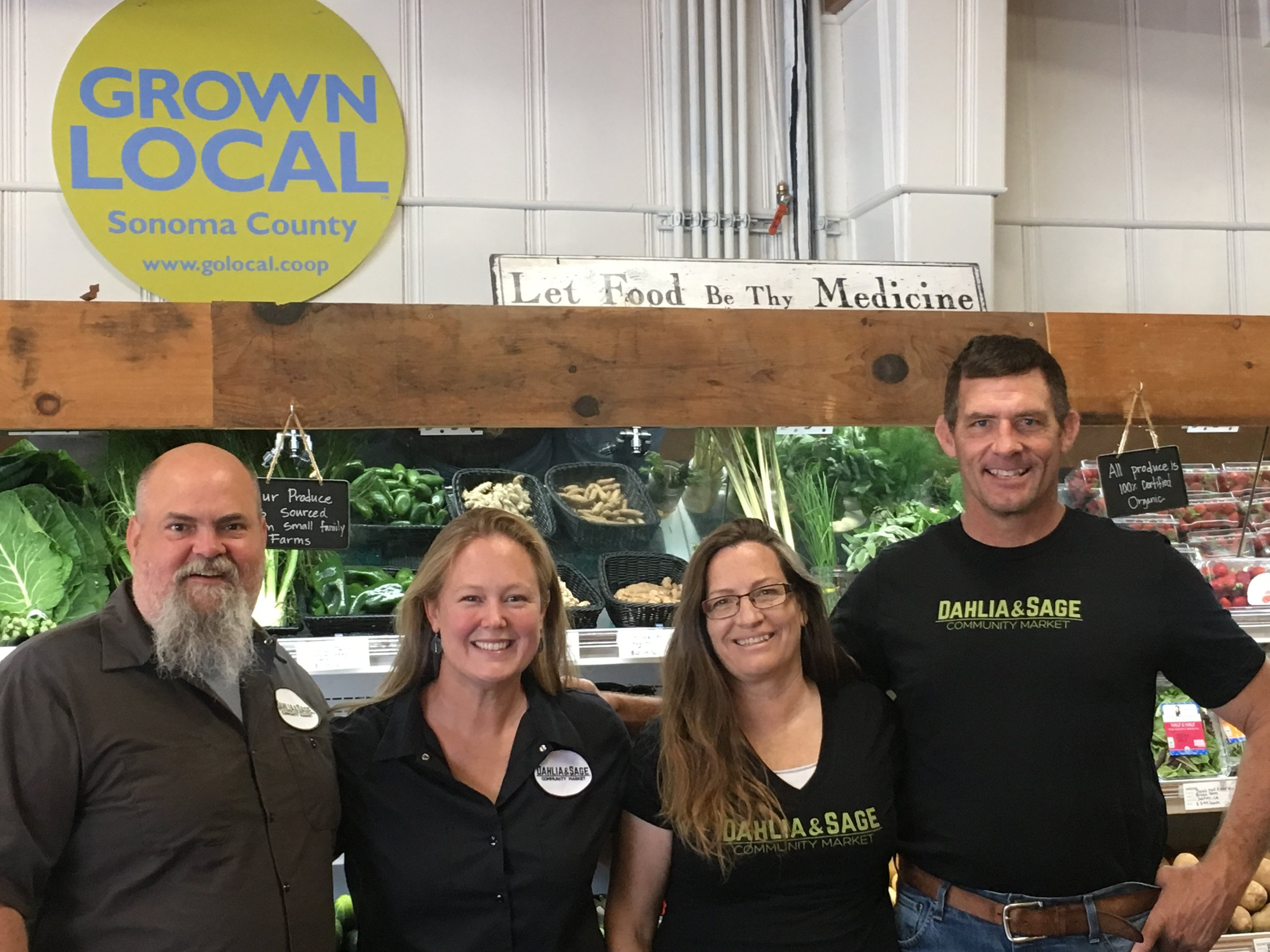 Meet the new owners . . . - Karie and Kurt Kelder and Frances and Peter Kruger – two local couples who are raising their families in Cloverdale and investing in their community wholeheartedly.