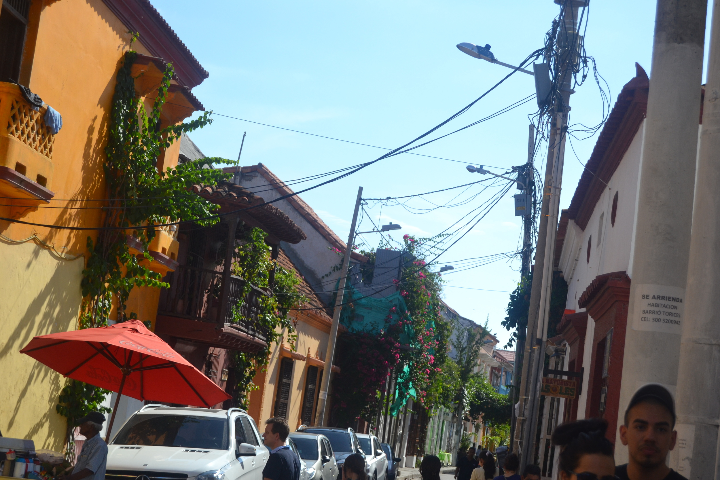 The streets of the Walled City!