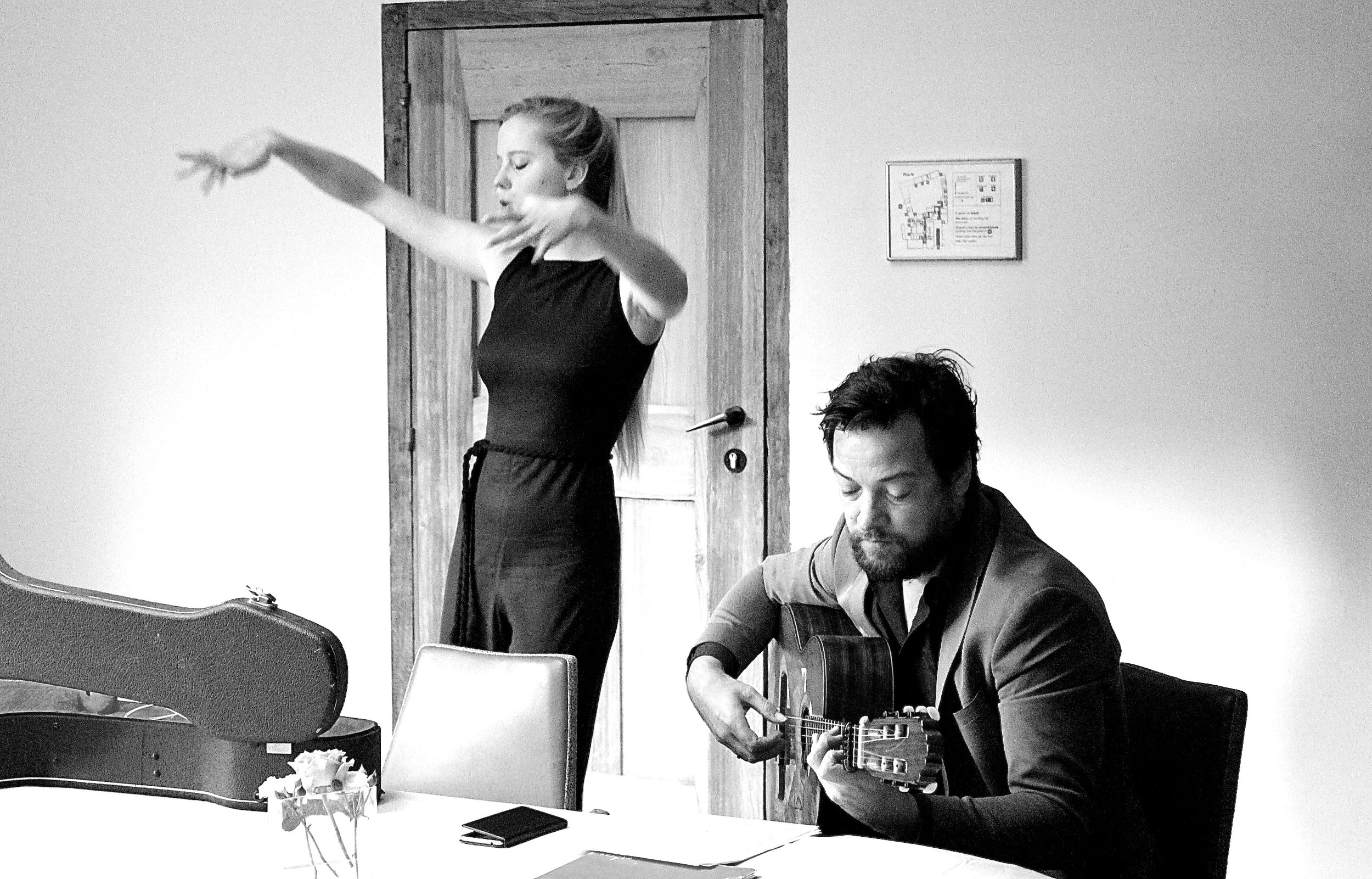 Lieselot De Wilde and Peter Verhelst by Laura D'Halleweyn