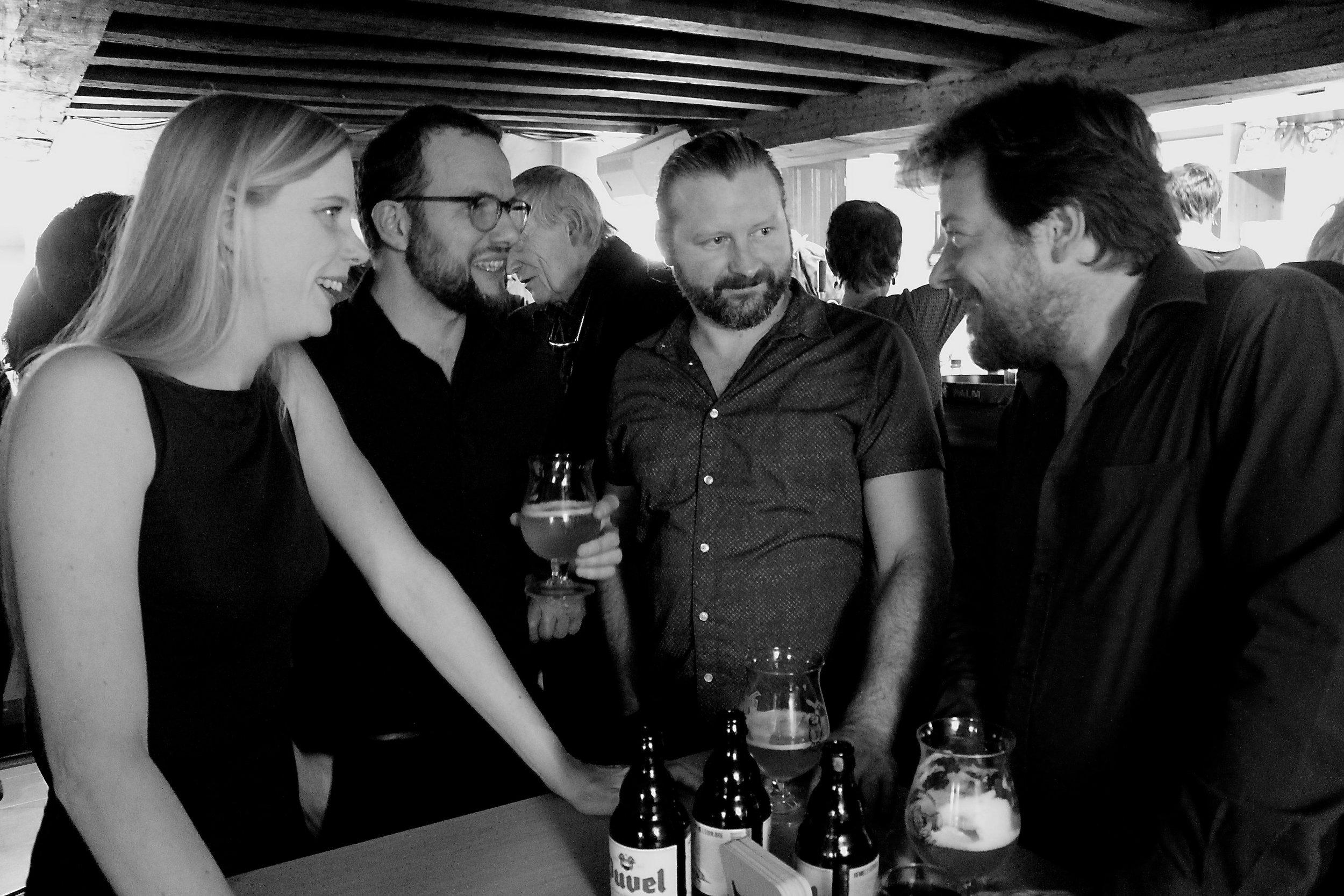 Liesleot De Wilde, Jean-Philippe Poncin, Lode Vercampt and Peter Verhelst