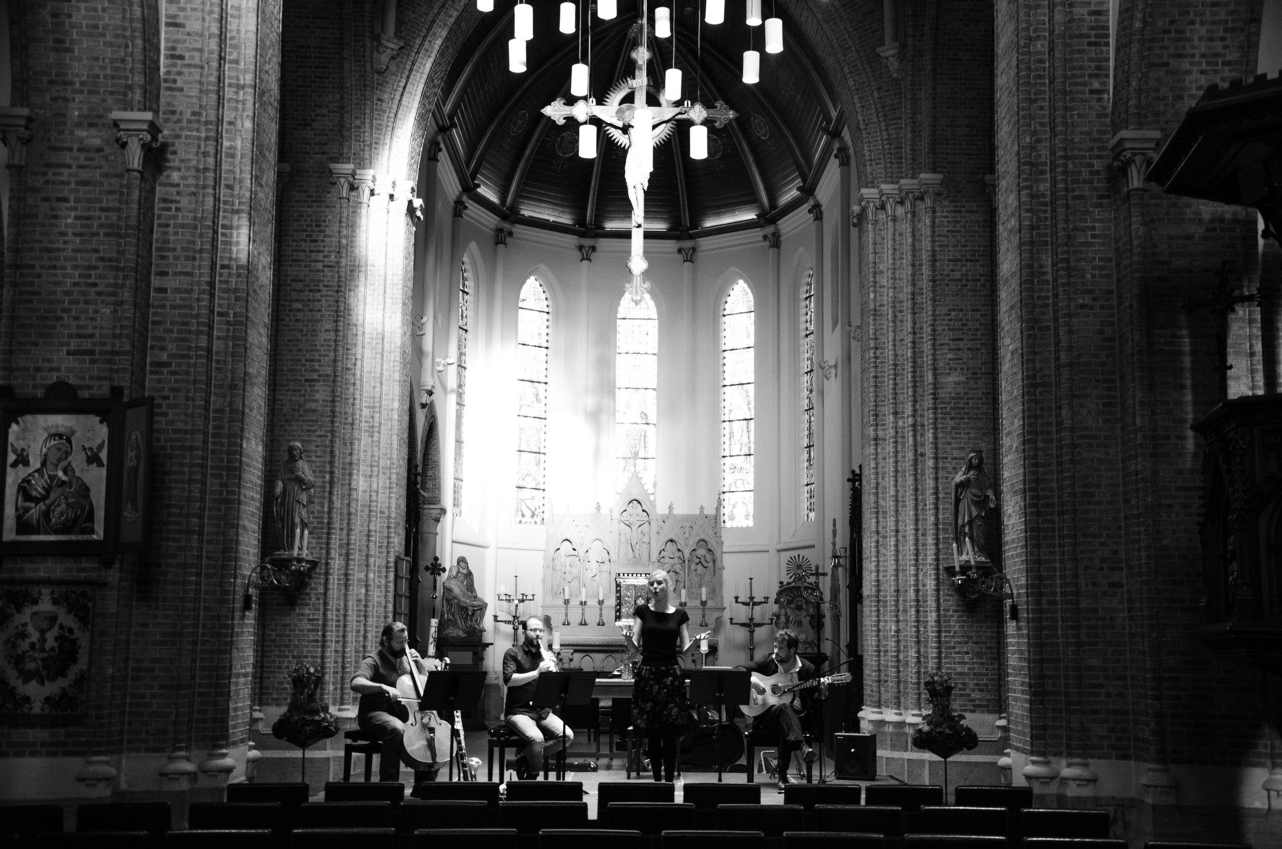 First of three concerts of Bel Ayre for Festival van Vlaanderen in Deinze