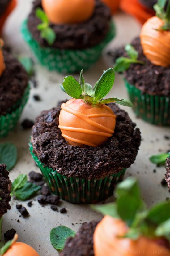 Carott Patch Cupcakes