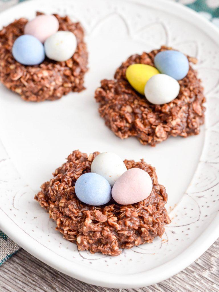 Chocolate PB Nests