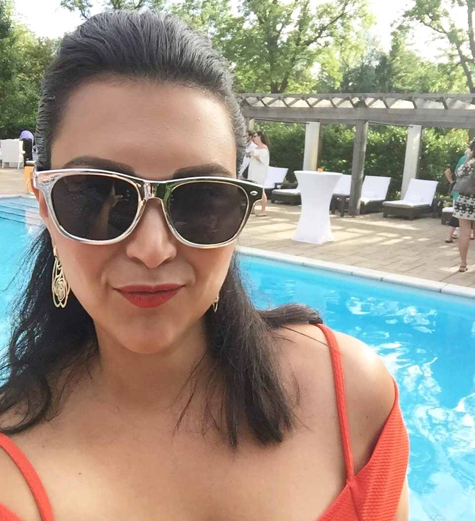 Carolina Soares Langdon Hall Pool Party