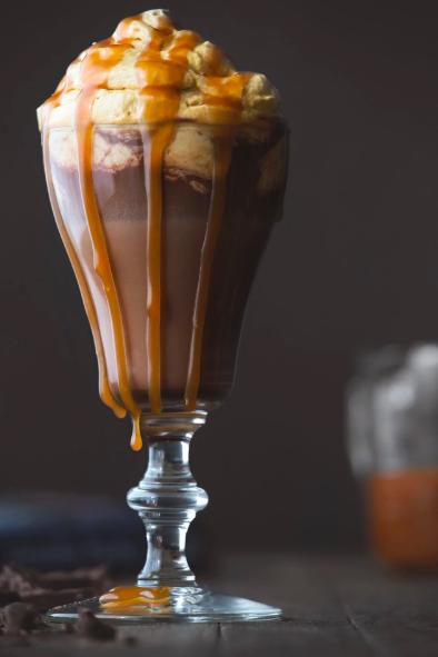 boozy salted caramel hot chocolate recipe