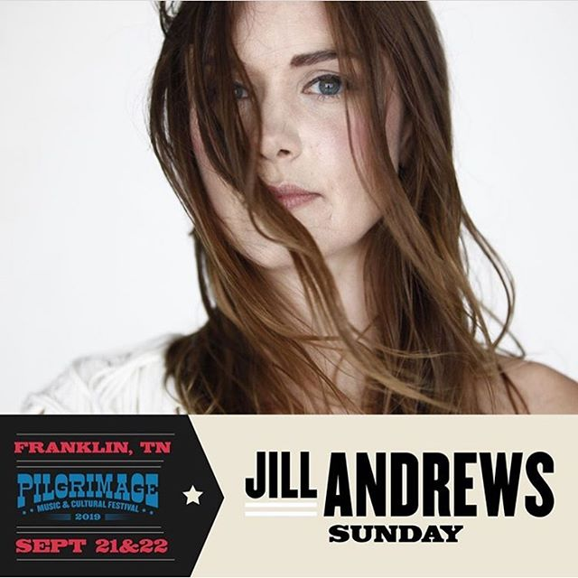 Nothing like a hometown festival! Slathering on the sunscreen and headed to see @jillandrewsmusic at @pilgrimagefestival today! See you there