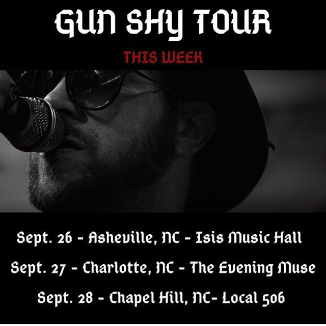 @matthewmayfield's amazing rock show heads to NC this weekend. 🔥🔥