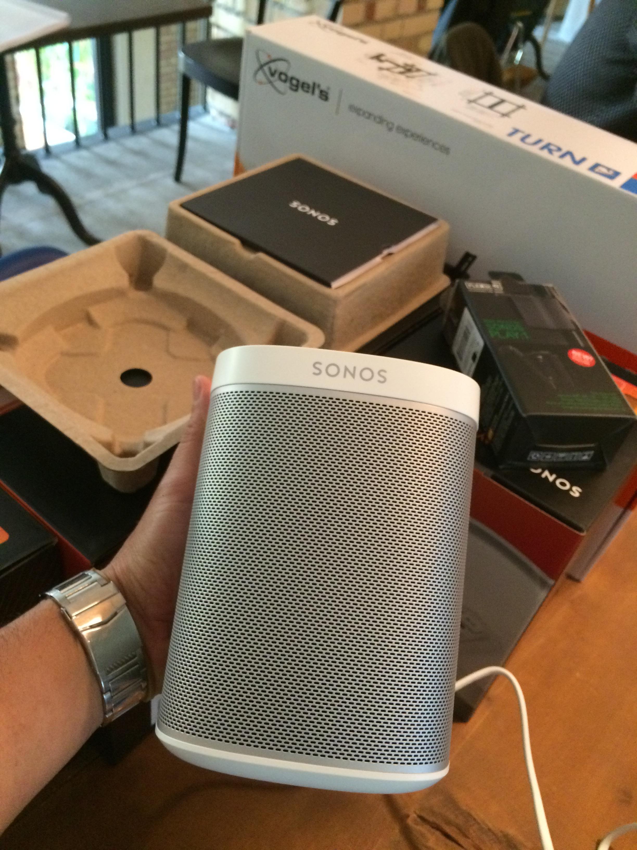 Sonos Lautsprecher Installation