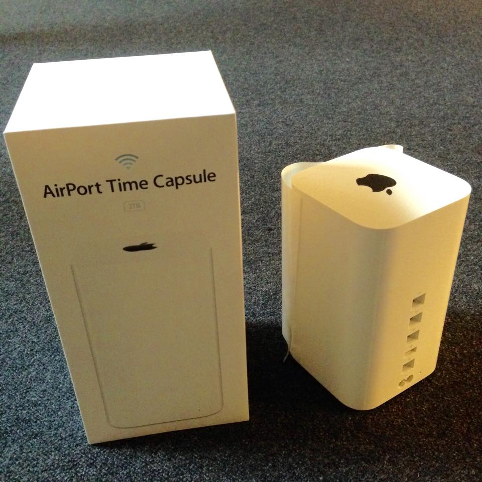 Backup and WLAN Apple verkauft