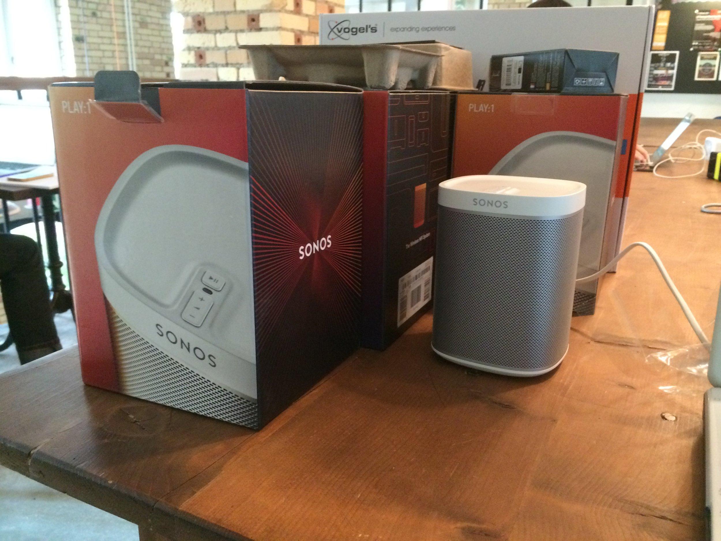 Sonos-System verkauft