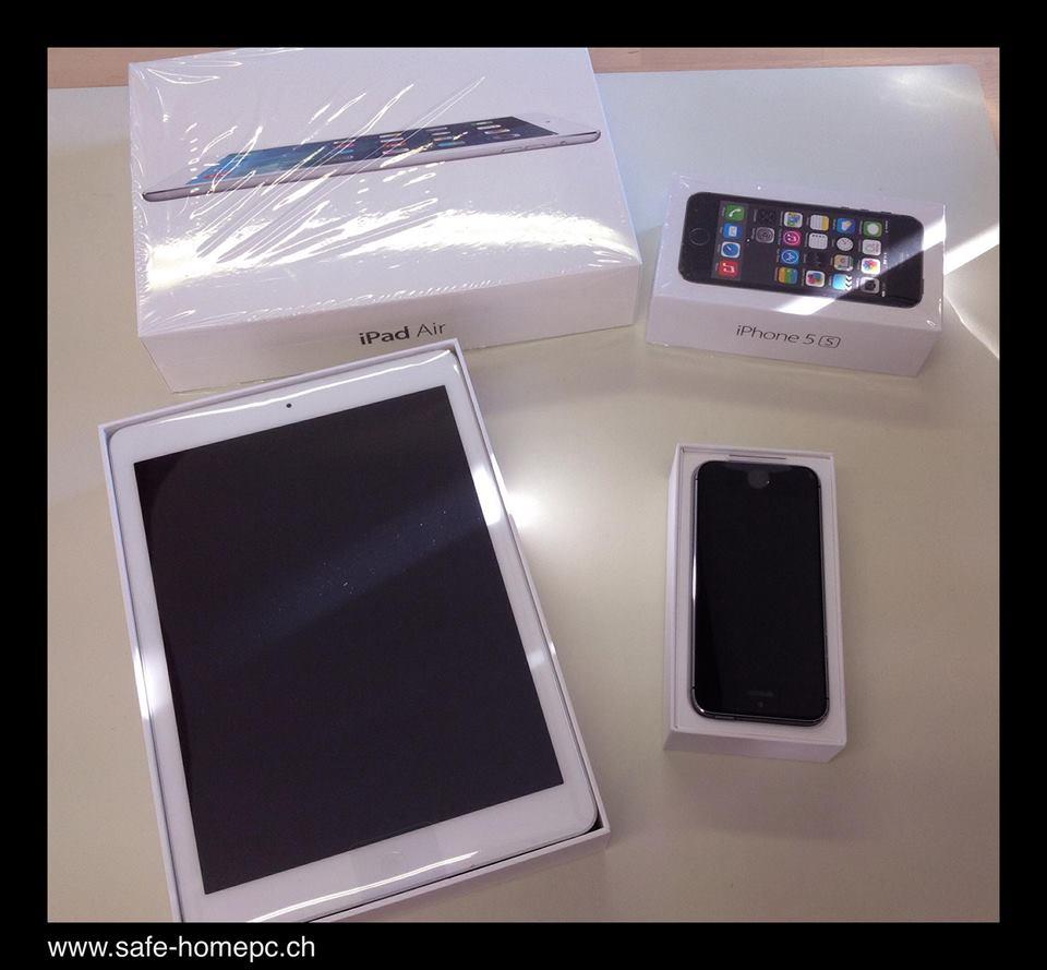 iPad & iPhone Verkauf, Installation und Konfiguration