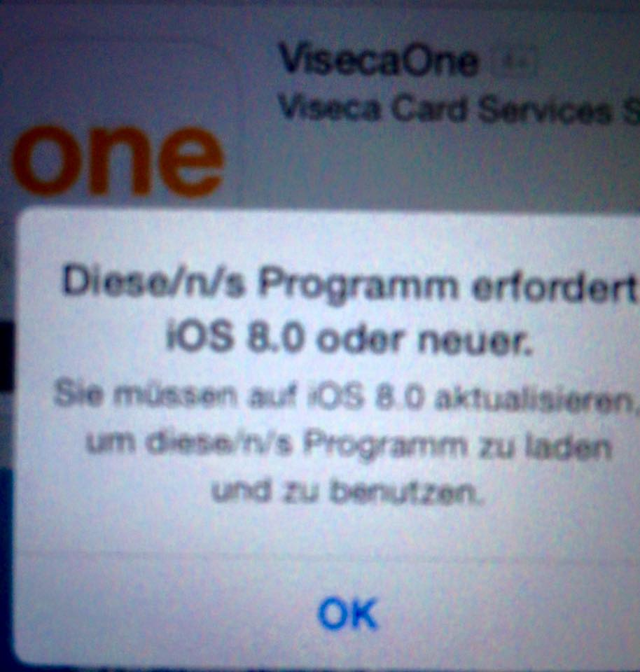 iPhone Software Problemlösung