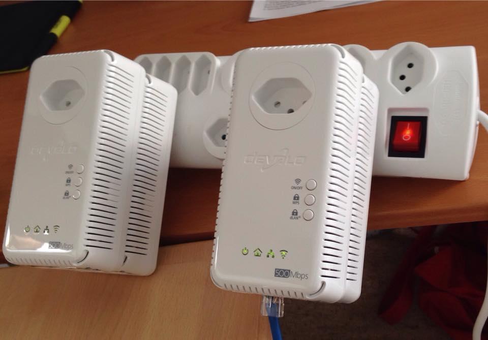 Internet über Stromleitung Konfiguration