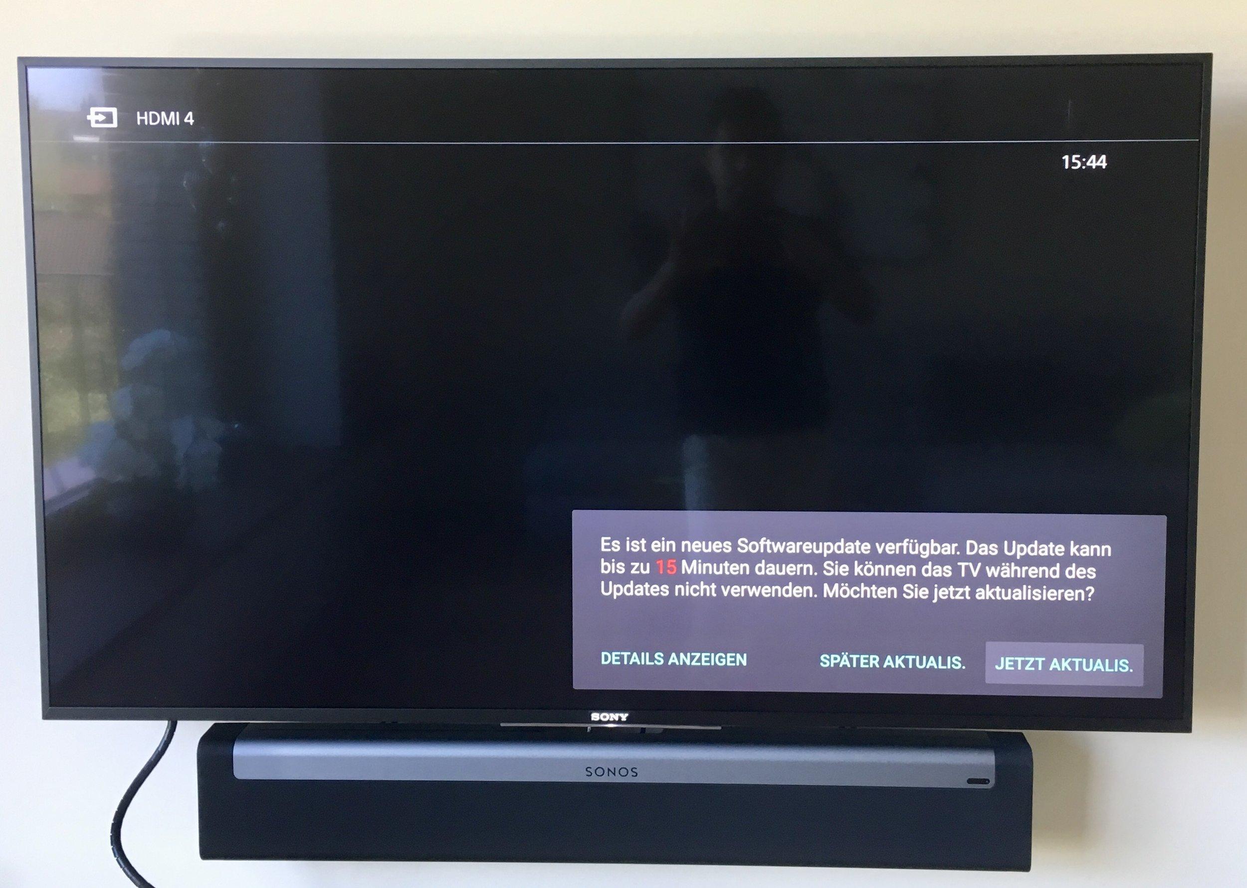 Fernsehen Konfiguration
