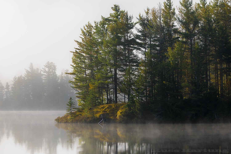 Morning on Lake Kushaqua.