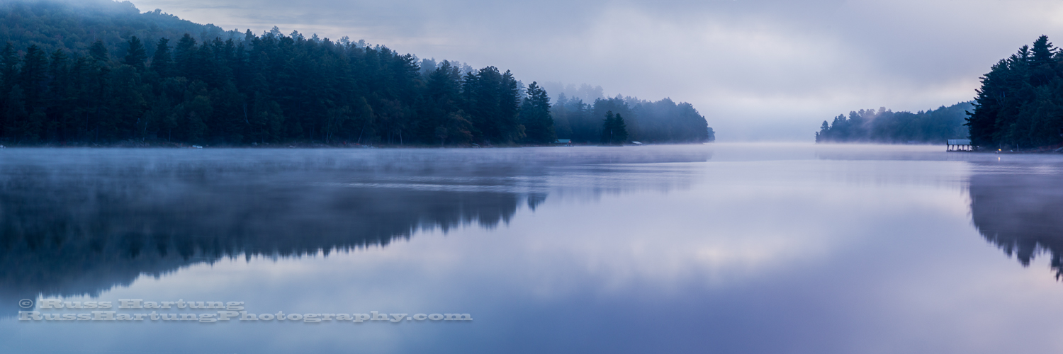 Long Lake at dawn.