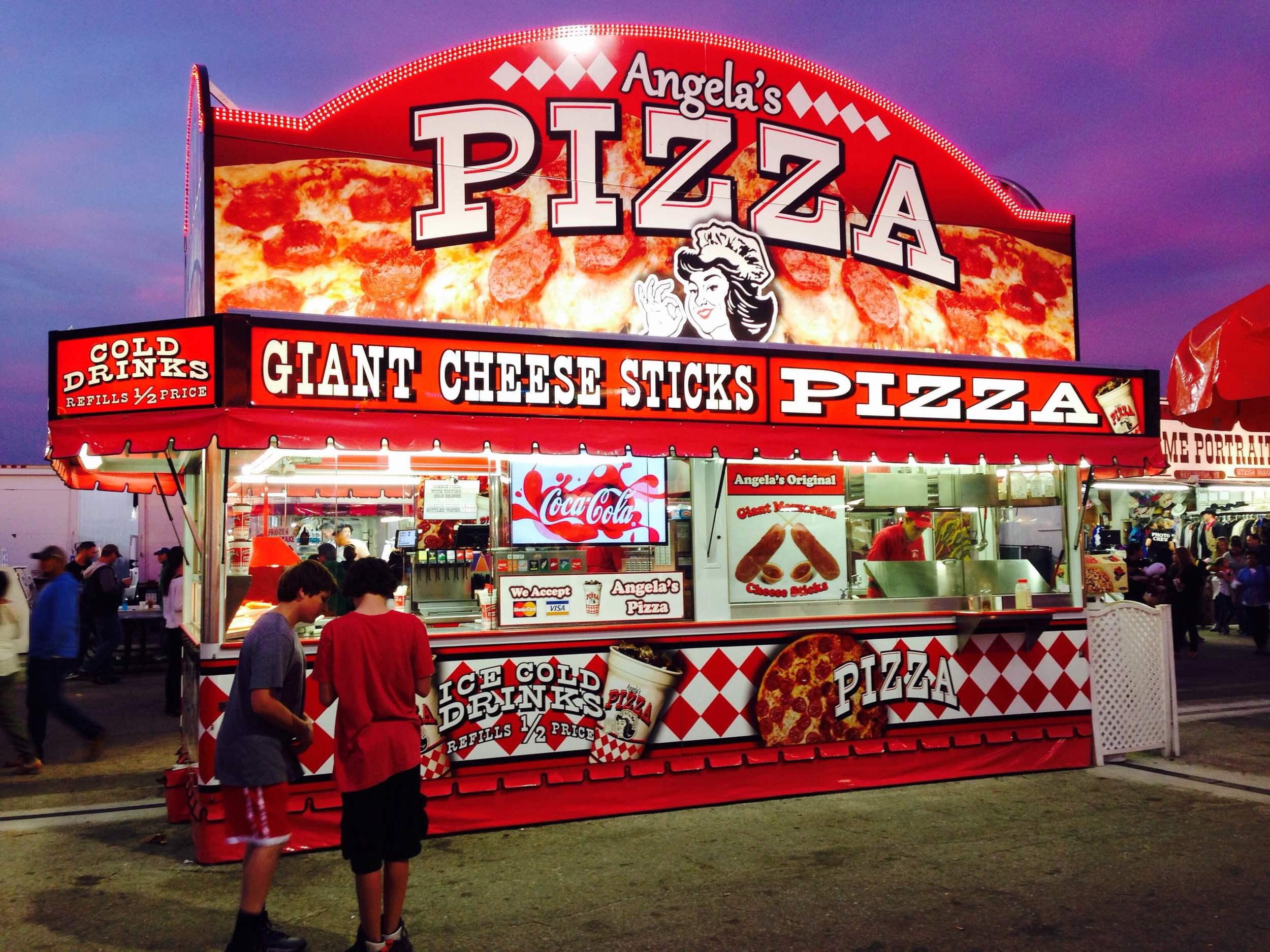 Angela's Pizza - South Florida Fair 2015 - West Palm Beach, FL