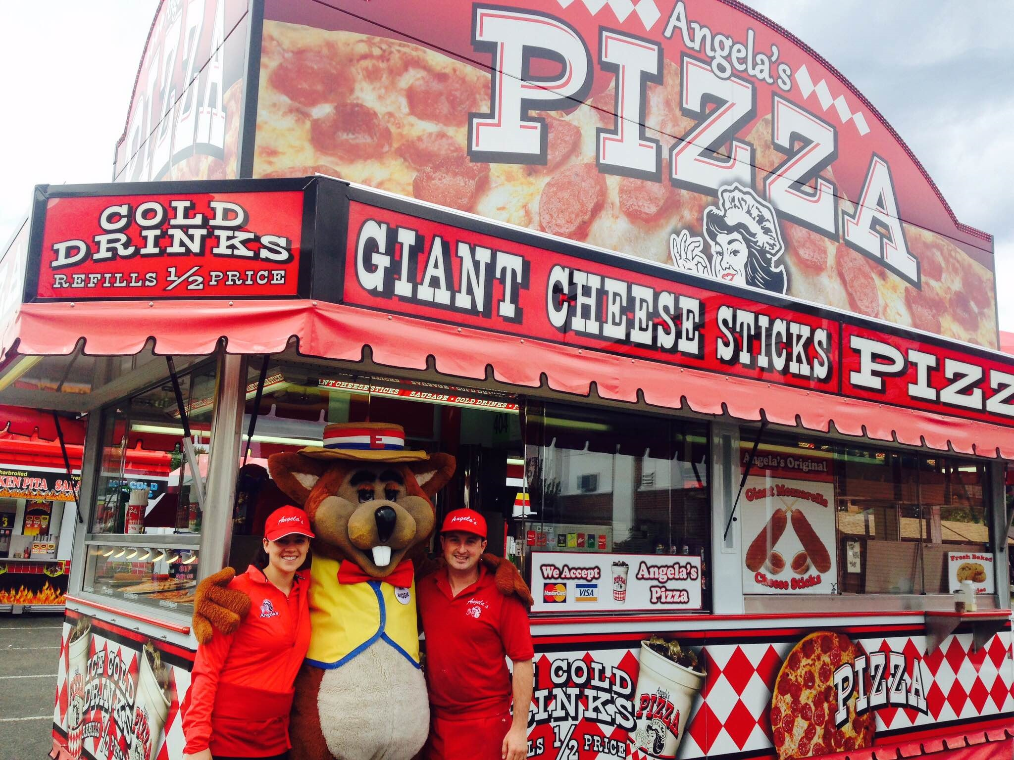 Mr. Biggie Stopping By Angela's - The Big E Fair 2015 - West Springfield, MA