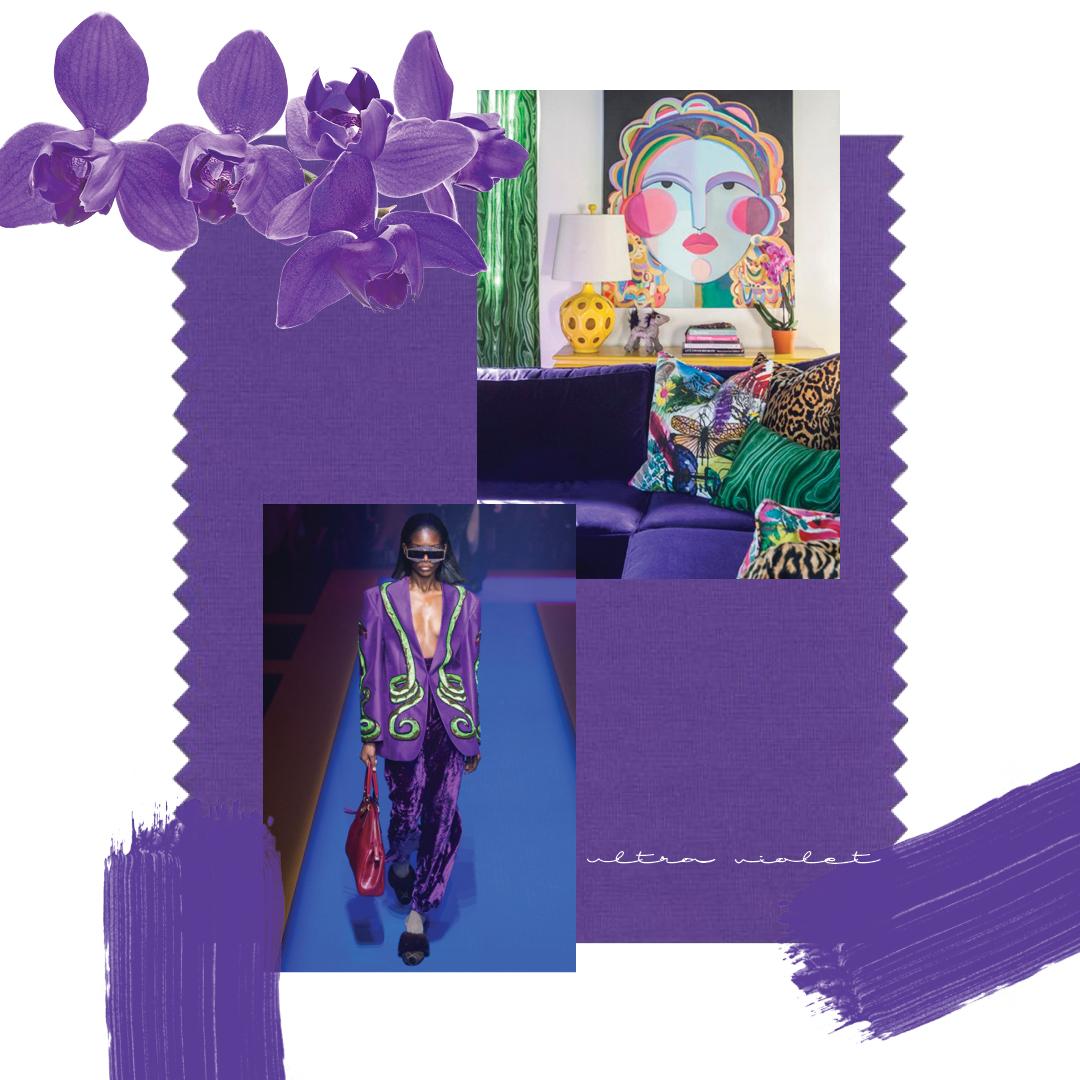 Pantone Purple 2018