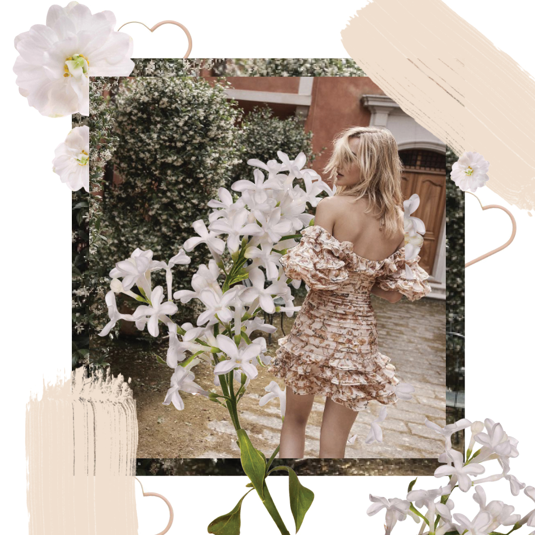 Digital Design of Maartje Verhoef wearing Zimmermann