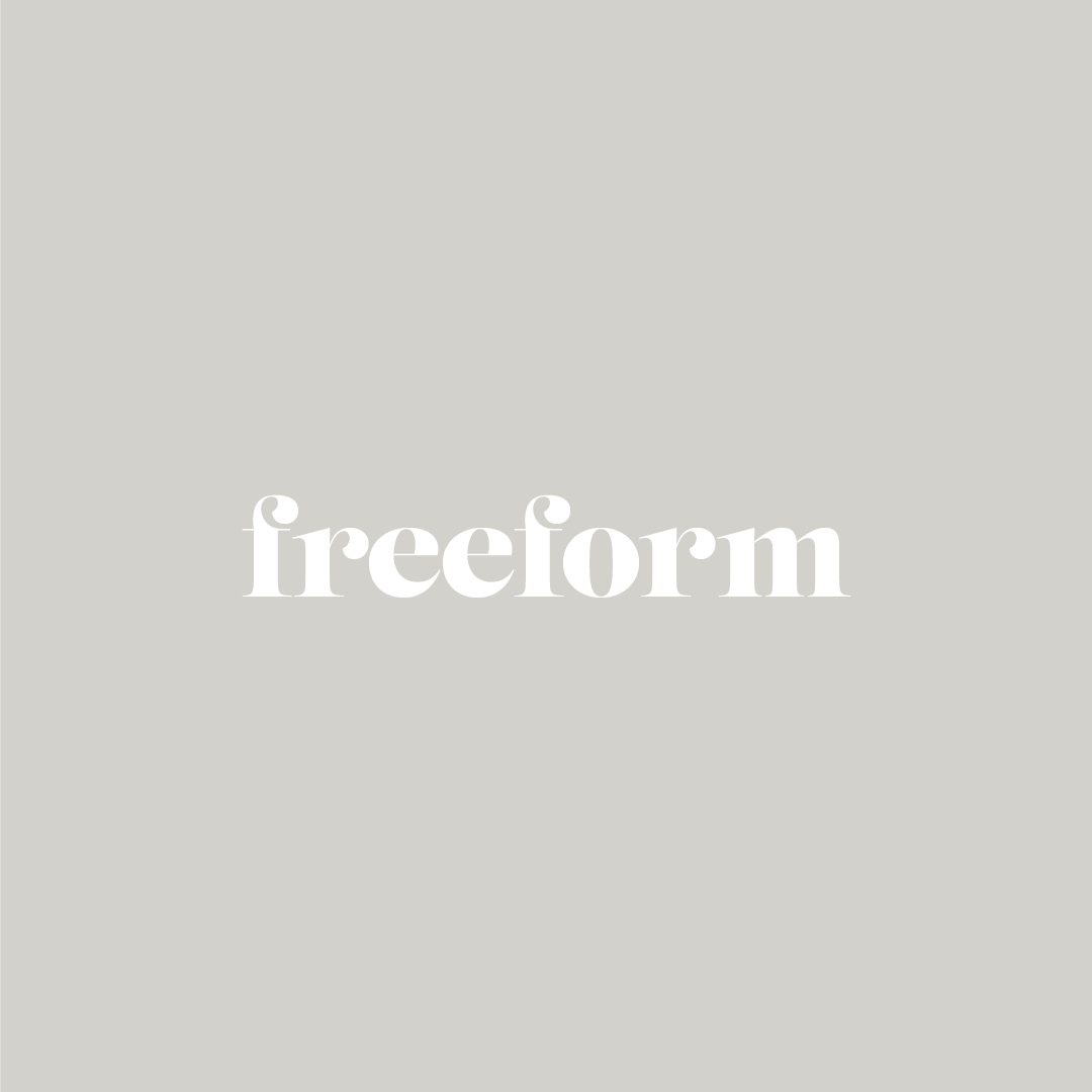 Branding for freeform including Logo Design, Brand Stamp