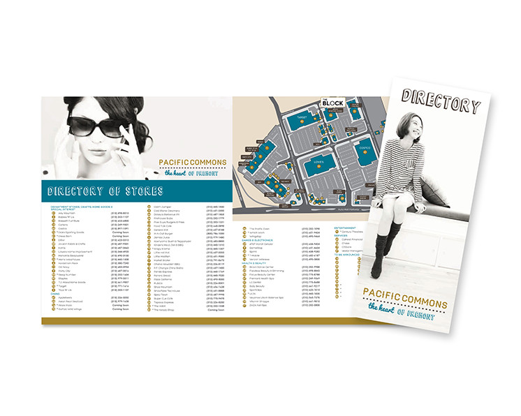 Pacific Commons Directory Collateral