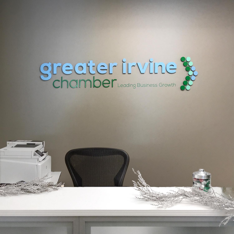 Greater Irvine Chamber Lobby Sign.jpg