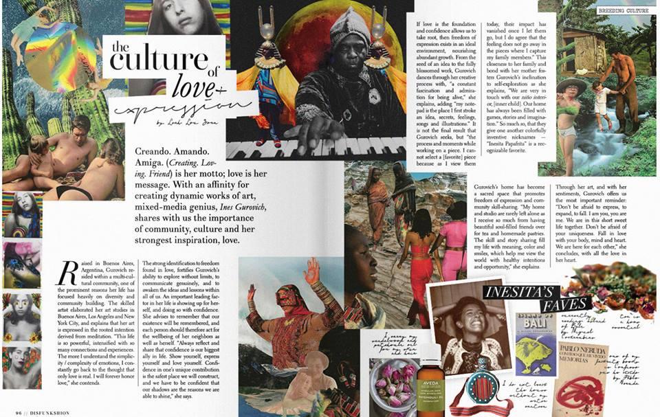 interview for DisFunkshion magazine - Artist conversation on statement and purpose of work for DisFunkshion Magazine - Dec 2017.