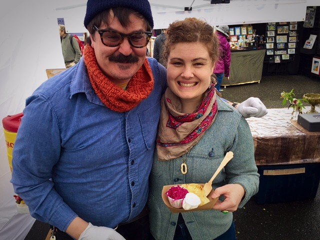 For Real Dough Pierogi, Audrey Odhner and Brian Morford