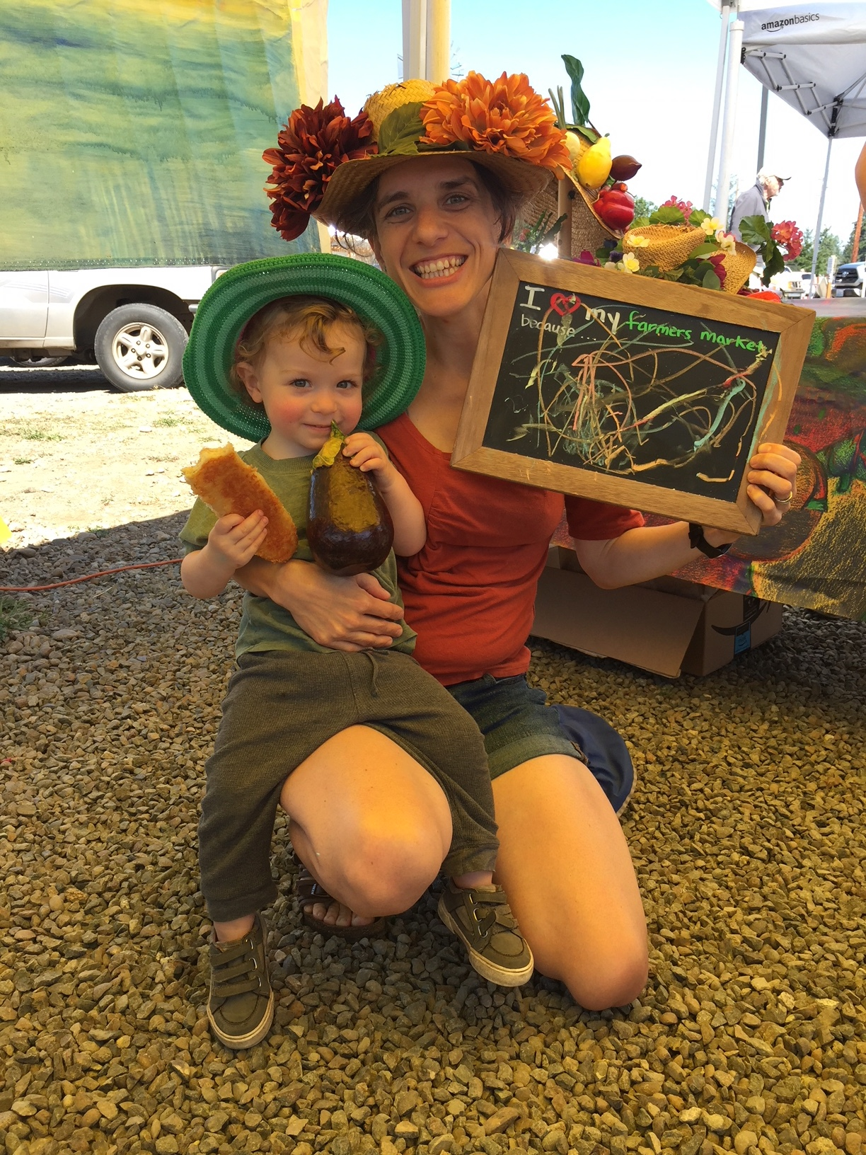 "Best abstract reason why to shop local! Part of the ""I love my farmers market because"" photo series. Photo by Amanda."