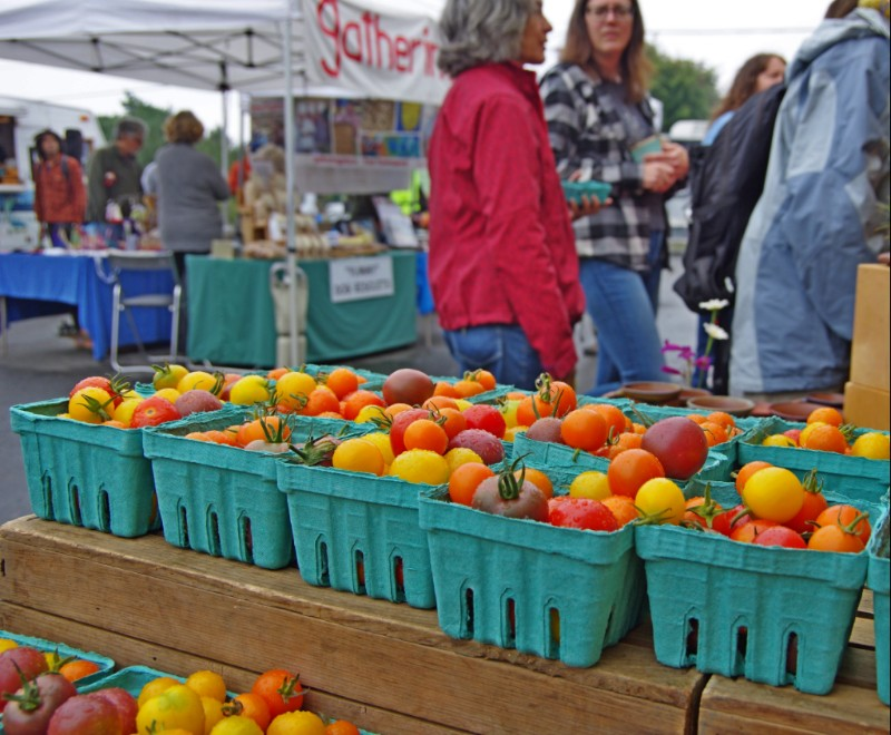 Enjoy the last of the tomatoes. Fall produce is here! Photo by  A Fare Story , Naomi Specht.